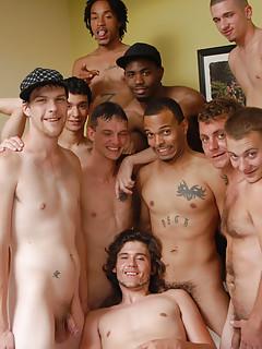 Gay Bukkake Porn