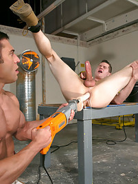 Fucking machines male butt